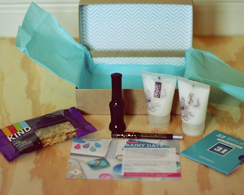 Looted: Unboxing April Birchbox